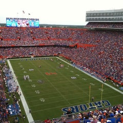 Photo taken at Ben Hill Griffin Stadium by Marcus P. on 9/3/2011