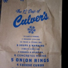 Photo taken at Culver's by lola b. on 12/30/2011