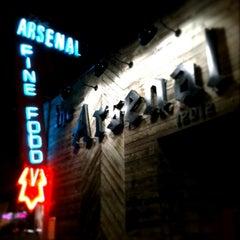 Photo taken at The Arsenal Bar by Louis C. on 2/24/2011