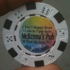 Photo taken at McKenna's Pub by Food Sex & Music (. on 4/4/2011