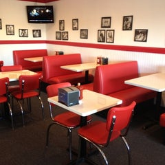 Photo taken at Burger 25 by Michael C. on 1/15/2012