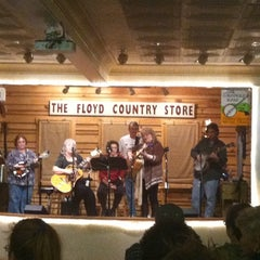 Photo taken at Floyd Country Store by Stephen D. on 12/31/2011