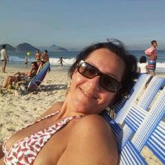 Photo taken at Barraca do Ray 149 - Copacabana by Washington É. on 6/30/2012