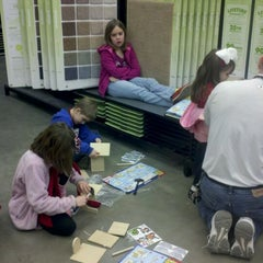 Photo taken at Lowe's Home Improvement by Kristie D. on 1/14/2012
