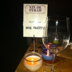 Photo taken at Vin de Syrah Wine Parlor by Wine H. on 3/25/2011