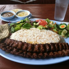 Photo taken at Sofra Kabab Express by Brett R. on 6/15/2012