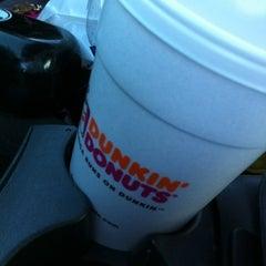 Photo taken at Dunkin' Donuts / Baskin-Robbins by Angela M. on 7/25/2012