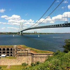 Photo taken at Fort Wadsworth by Tim V. on 6/23/2012