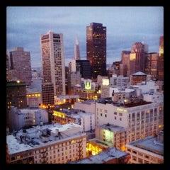 Photo taken at Parc 55 San Francisco - A Hilton Hotel by Noah W. on 3/26/2012
