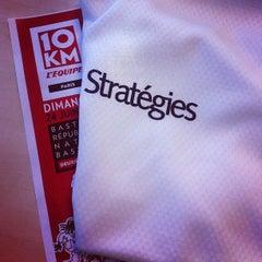 Photo taken at Stratégies by Rassem B. on 6/22/2012