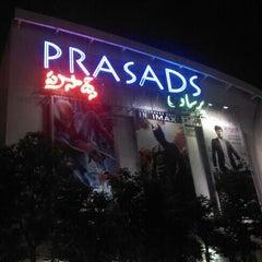 Photo taken at Prasad's IMAX by Rana Pratap S. on 7/22/2012