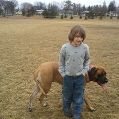 Photo taken at Armatage Park by Lori A. on 3/12/2012
