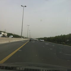 Photo taken at خط  الملك فهد by M7md on 5/8/2012