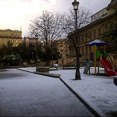 Photo taken at Piazza Dante by Massimo B. on 2/11/2012
