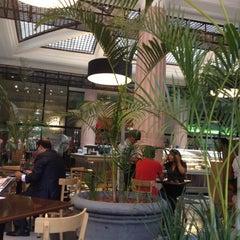 Photo taken at San Antonio Caffé by Patrick P. on 2/23/2012