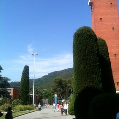 Photo taken at Edifici de Llevant - Campus Mundet (Universitat de Barcelona) by Natalia S. on 6/7/2012