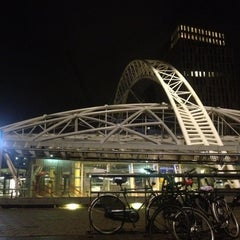 Photo taken at Station Rotterdam Blaak by Robert S. on 6/6/2012