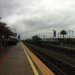 Photo taken at Oceanside Transit Center by Taylor W. on 3/24/2012