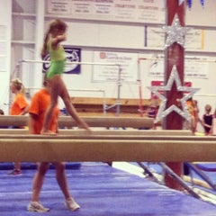 Photo taken at Gymquarters Gymnastics Center by LB P. on 7/19/2012