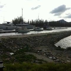 Photo taken at Marina Island by zaza s. on 3/7/2012