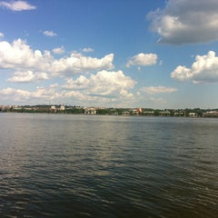 Photo taken at Набережная Воткинского пруда by Viktor Z. on 5/30/2012