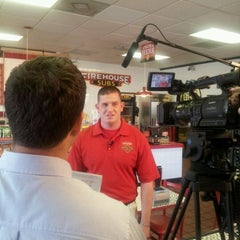 Photo taken at Firehouse Subs by Cecily S. on 4/20/2012