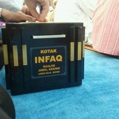 Photo taken at Masjid Jabal Arafah by Syaiful C. on 7/29/2012