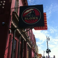 Photo taken at Slows Bar-B-Q by Carl L. on 3/10/2012