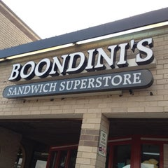 Photo taken at Boondini's Sandwich Superstore by Zo &. on 3/17/2012
