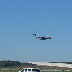 Photo taken at Griffiss International Airport (RME) by Nate M. on 9/13/2012