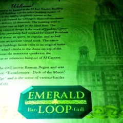 Photo taken at Emerald Loop Bar and Grill by André on 7/25/2012