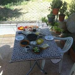 Photo taken at Çiftlik sefası by Selin S. on 7/28/2012