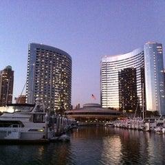 Photo taken at San Diego Marriott Marquis & Marina by Rod K. on 8/6/2011