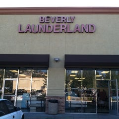 Photo taken at Beverly Launderland by Cecilia G. on 11/4/2011