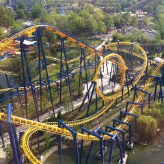 Photo taken at Carowinds by Rick . on 4/19/2011