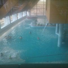 Photo taken at Thalasia Hotel & Thalasso Center by ana r. on 4/7/2012