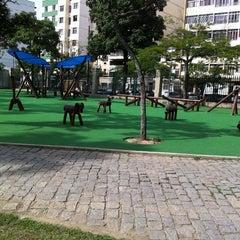 Photo taken at Parque Recanto do Trovador by Amanda L. on 5/24/2012