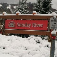 Photo taken at Sunday River Ski Resort by Rick D. on 10/30/2011