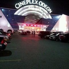 Photo taken at Cineplex Odeon Queensway Cinemas by John V. on 7/15/2012