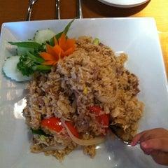 Photo taken at My Thai Cafe by Mei Li T. on 8/10/2011