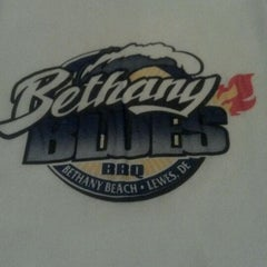 Photo taken at Bethany Blues BBQ by Kyle J. on 12/14/2011
