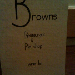 Photo taken at Browns Pie Shop by Sanne V. on 11/20/2011