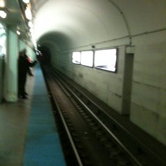 Photo taken at CTA - North/Clybourn by BTRIPP on 2/19/2012