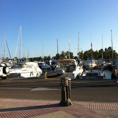 Photo taken at Club Nautico Sant Carles de la Rapita by Josep R. on 7/20/2011