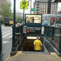 Photo taken at MTA Subway - Cathedral Pkwy/110th St (1) by Jose L. on 9/23/2011
