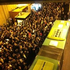 Photo taken at Zincirlikuyu Metrobüs Durağı by Kerem D. on 12/13/2011