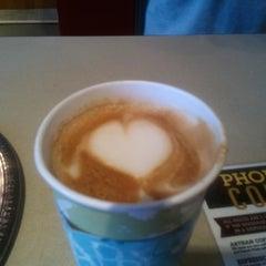 Photo taken at Coffee Phix Café by Bonnie K. on 1/28/2012