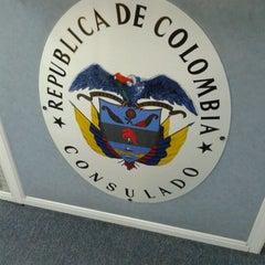 Photo taken at Consulado Geral da Colômbia by Edgard O. on 7/18/2012