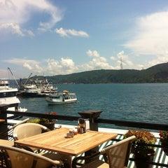 Photo taken at Göze Teras Cafe by Gmz E. on 8/4/2012