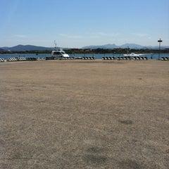 Photo taken at Molo Vecchio by Sardinia G. on 5/25/2012